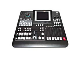 black Panasonic Digital Audio Video Mixer