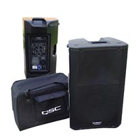 Q S C K 12 1000 watt active public adddress speaker